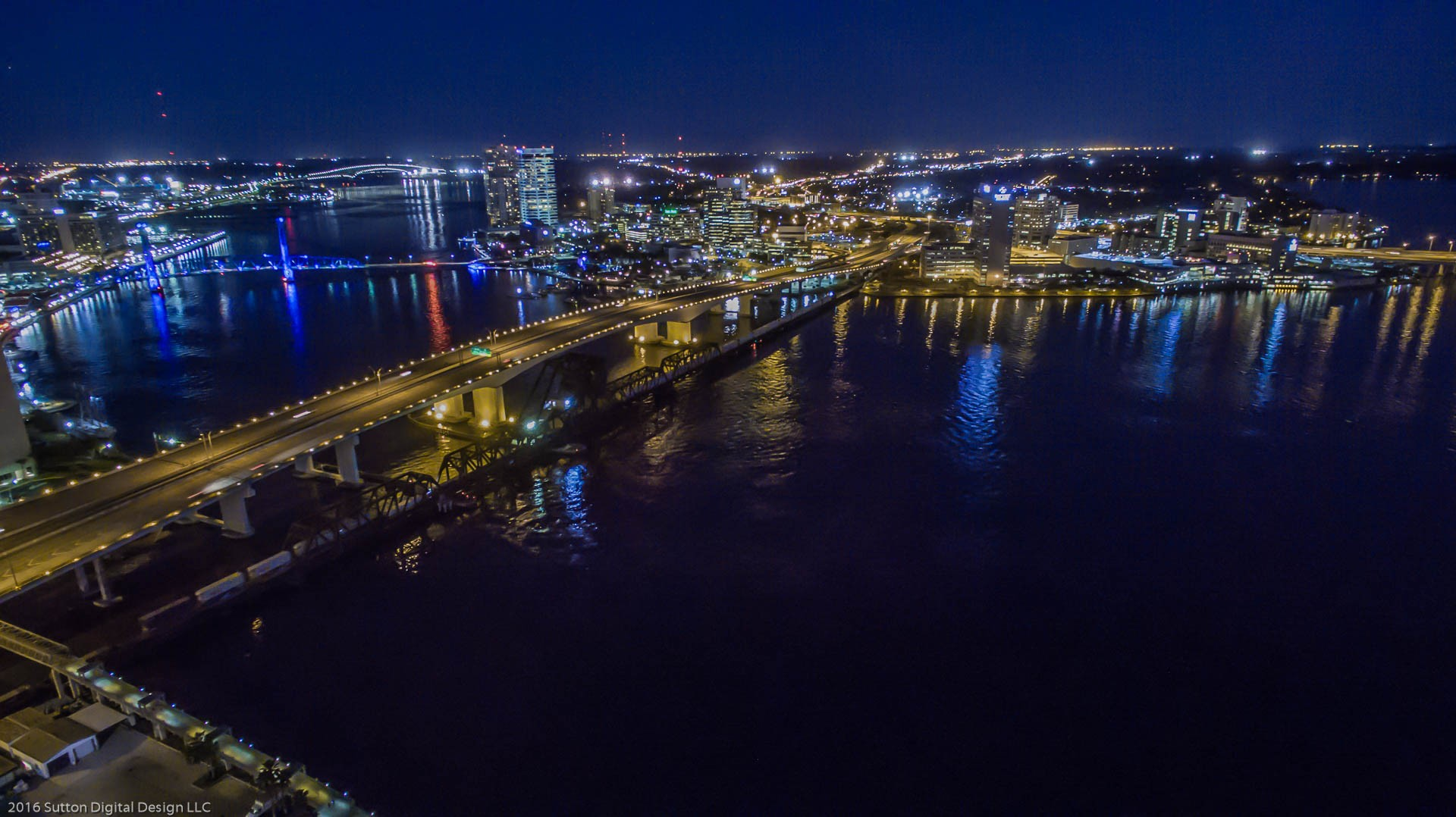 South Jacksonville at Night