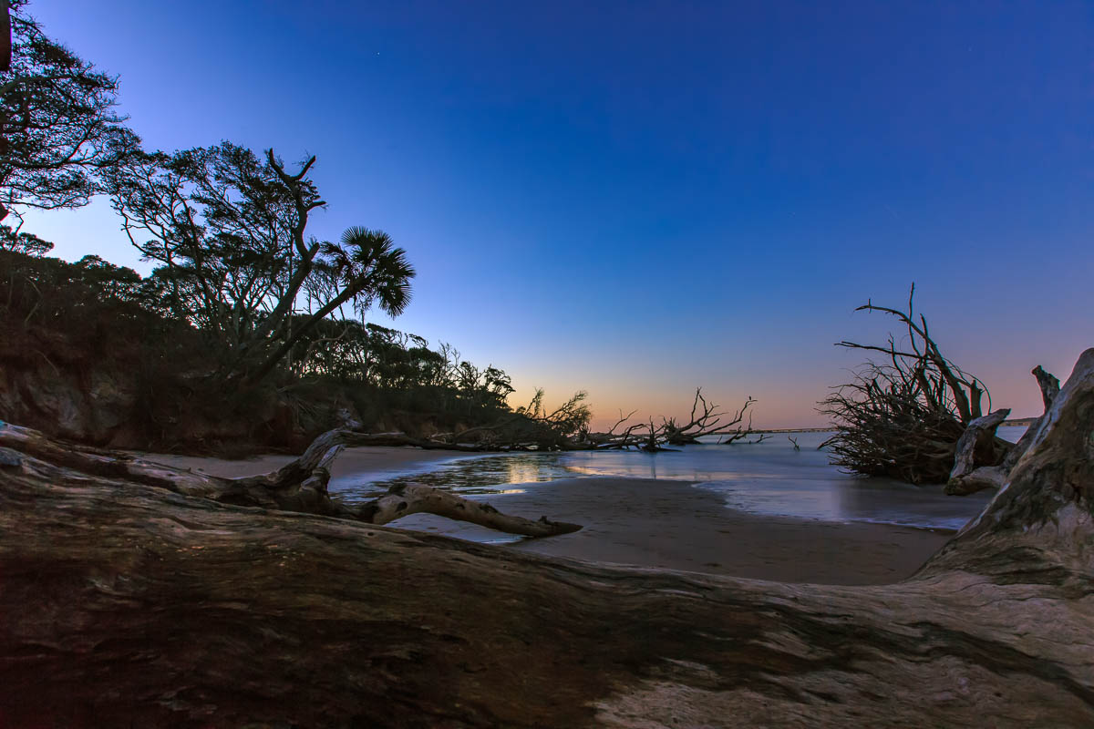 A beautiful sunset at Big Talbot Island